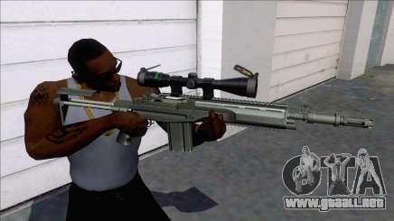 M14 SOPMOD Sniper para GTA San Andreas