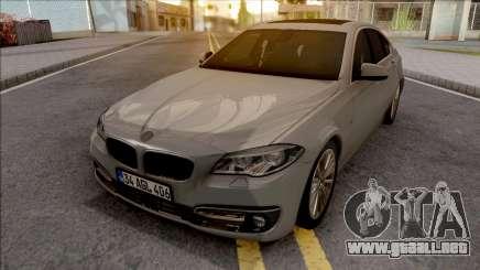 BMW 525D F10 v2 para GTA San Andreas