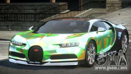 Bugatti Chiron ES L8 para GTA 4