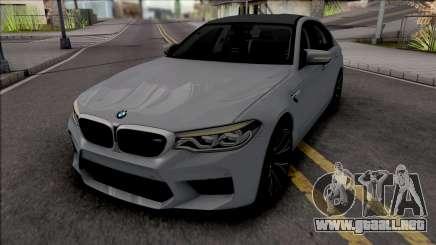 BMW M5 2018 para GTA San Andreas