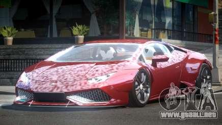 Lamborghini Huracan BS Drift para GTA 4