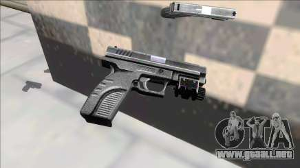 Resident Evil 4 default handgun para GTA San Andreas