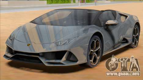 2020 Lamborghini Huracan EVO Spyder para GTA San Andreas