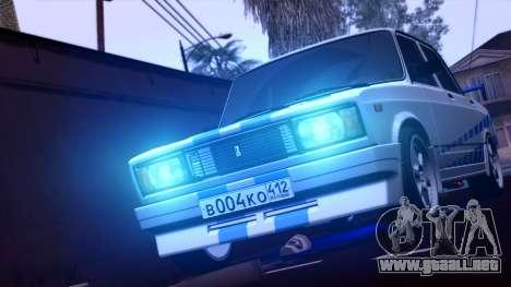 Vaz 2105 Jiguli Deporte y Belleza para GTA San Andreas