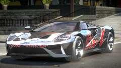 Ford GT BS Racing L8 para GTA 4