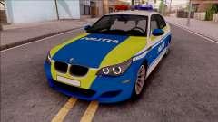 BMW M5 E60 Politia Romana Design 2020
