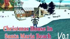 Casa de Navidad y Santa Maria Beach v0.1 para GTA San Andreas