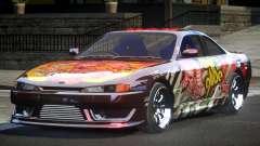 Nissan 200SX BS Racing L6 para GTA 4