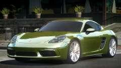 Porsche 718 Cayman L6 para GTA 4
