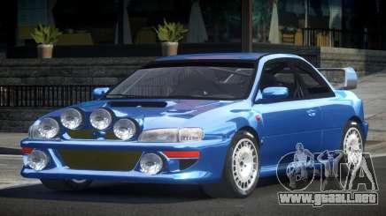 1998 Subaru Impreza RC para GTA 4