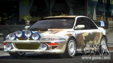 1998 Subaru Impreza RC PJ10 para GTA 4