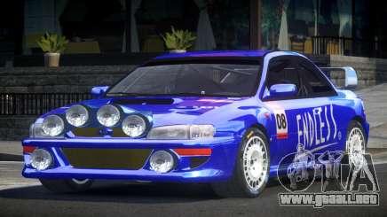 1998 Subaru Impreza RC PJ11 para GTA 4