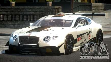 Bentley Continental GT Racing L4 para GTA 4