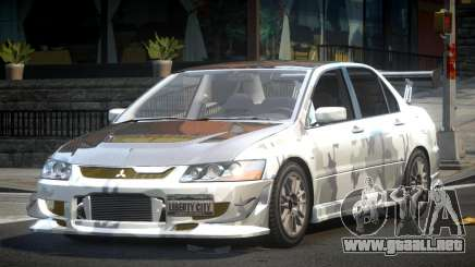 Mitsubishi Evolution VIII GS L2 para GTA 4