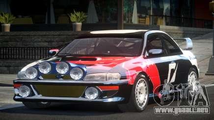 1998 Subaru Impreza RC PJ7 para GTA 4
