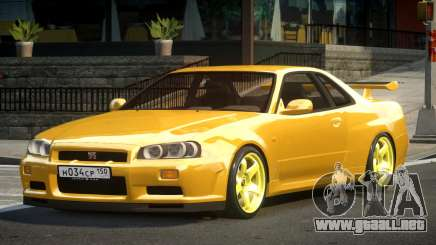Nissan Skyline GS R34 para GTA 4