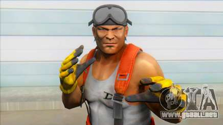 Dead Or Alive 5 - Bass Armstrong (Costume 2) V1 para GTA San Andreas