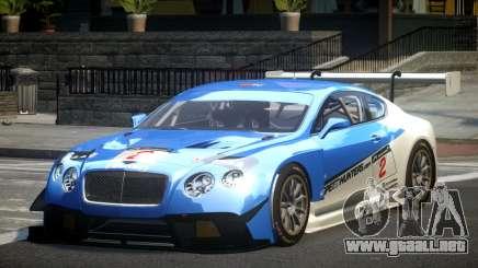 Bentley Continental GT Racing L3 para GTA 4