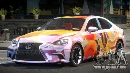Lexus IS 350 SR L7 para GTA 4