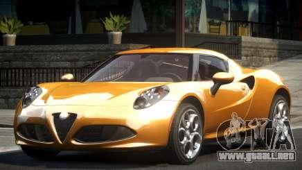 Alfa Romeo 4C L-Tuned para GTA 4