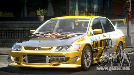 Mitsubishi Evolution VIII GS L5 para GTA 4