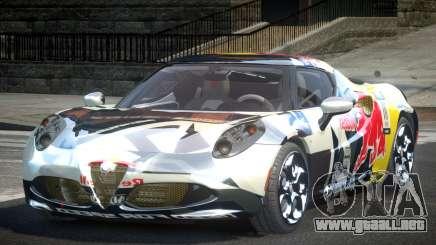 Alfa Romeo 4C SR PJ5 para GTA 4