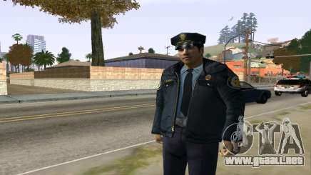Skin Celador o Vigilante Latino para GTA San Andreas