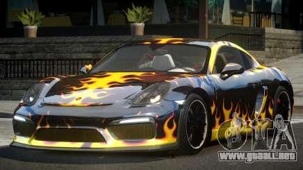Porsche Cayman GT4 R-Tuned L4 para GTA 4