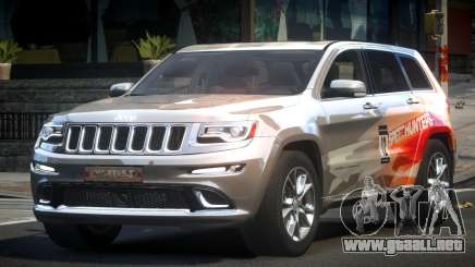 Jeep Grand Cherokee E-Style L9 para GTA 4