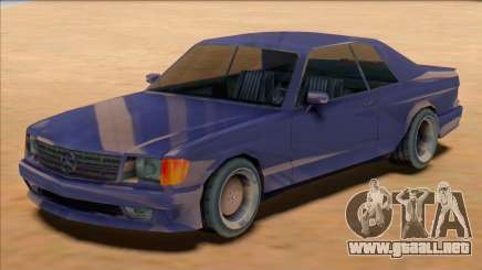 1991 Mercedes 560 SEC AMG [SA Style] para GTA San Andreas