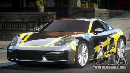 Porsche 718 Cayman L7 para GTA 4