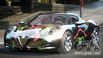 Alfa Romeo 4C SR PJ10 para GTA 4