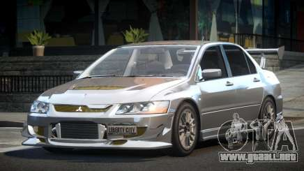 Mitsubishi Evolution VIII GS para GTA 4