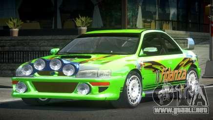 1998 Subaru Impreza RC PJ4 para GTA 4