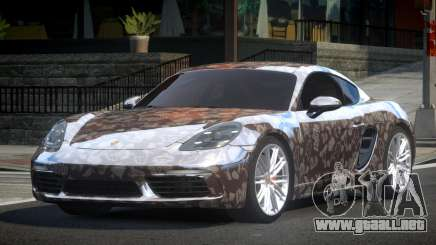 Porsche 718 Cayman L4 para GTA 4