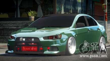 Mitsubishi Lancer X D-Style para GTA 4