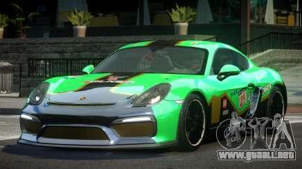 Porsche Cayman GT4 R-Tuned L5 para GTA 4