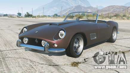Ferrari 250 GT California Passo Lungo 1959 para GTA 5