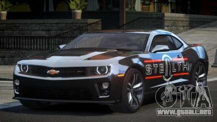 Chevrolet Camaro PSI Racing L8 para GTA 4