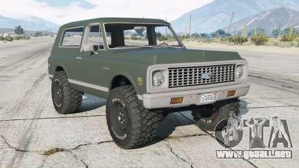 Chevrolet K5 Blazer (KS10514) 1972 para GTA 5