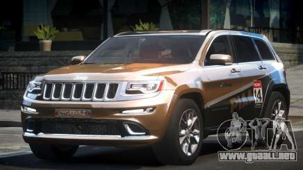 Jeep Grand Cherokee E-Style L5 para GTA 4