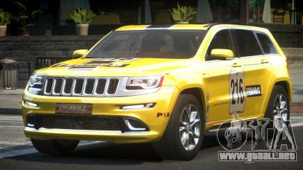 Jeep Grand Cherokee E-Style L11 para GTA 4