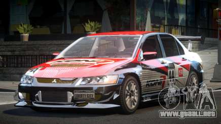 Mitsubishi Evolution VIII GS L1 para GTA 4