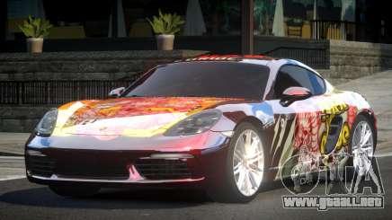 Porsche 718 Cayman L5 para GTA 4