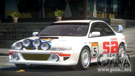 1998 Subaru Impreza RC PJ1 para GTA 4