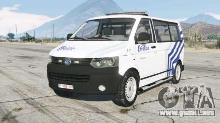 Volkswagen Transporter Kombi (T5) Politie para GTA 5