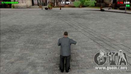 Simple HUD para GTA San Andreas