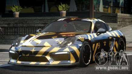 Porsche Cayman GT4 R-Tuned L8 para GTA 4