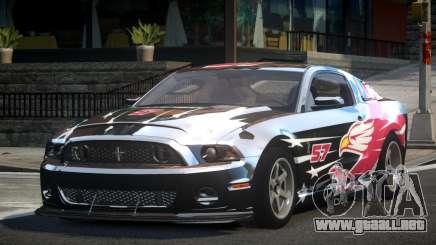 Shelby GT500 BS Racing L1 para GTA 4