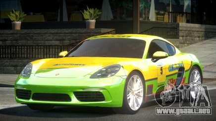 Porsche 718 Cayman L9 para GTA 4